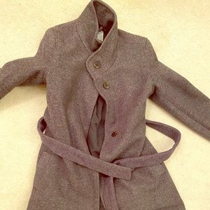 XS Maternity grey short tie old navy jacket